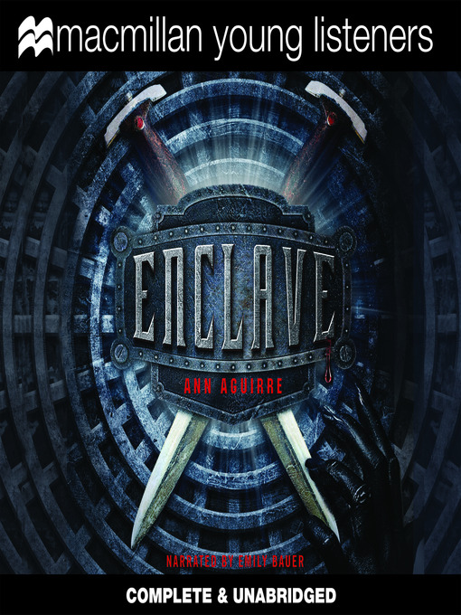 enclave bookjacket
